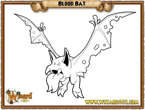 coloring page of a vire bat paige s page paige s december of colorful contests