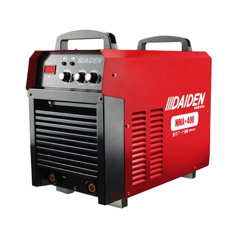 daiden welding inverter machine mesin las mma 400