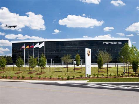 porsche headquarters uk porsche s new 100 million us headquarters is like