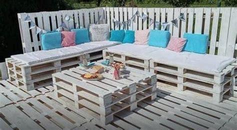 Creer Un Salon De Jardin Avec Des Palettes
