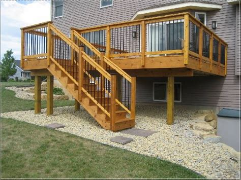 17 best ideas about raised deck on patio deck
