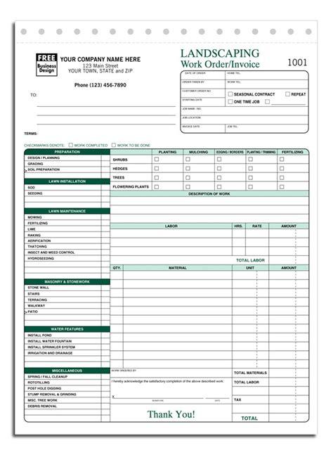 free lawn care invoice template sanjonmotel