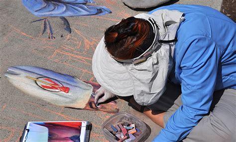 park sidewalk chalk festival september 20 2014