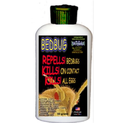 bed bug killer lotion