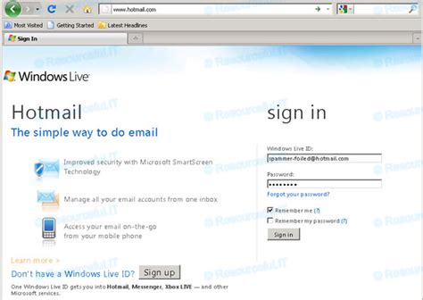 sign in hotmail hotmail login page hotmail sign in e b