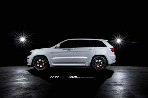 white jeep grand cherokee custom white jeep grand cherokee srt8 adv6 m v2 sl gloss black