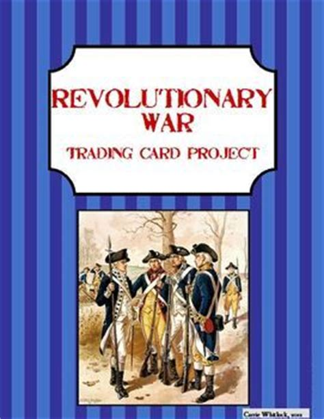revolutionary war trading cards template the world s catalog of ideas