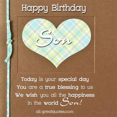 printable birthday cards for son free birthday cards for son happy birthday son happy