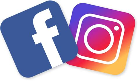 Facebook Instagram Logos Transparent | facebook and instagram logo clear background pictures to