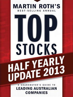 Ebook Your Next Great Stock top stocks 2013 half yearly update by martin roth 183 overdrive rakuten overdrive ebooks