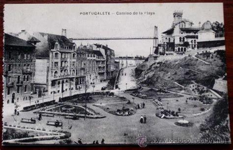 antigua postal de barakaldo vizcaya chalets comprar antigua postal de portugalete bilbao camino comprar