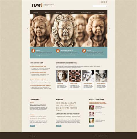 woo templates sculpture web template