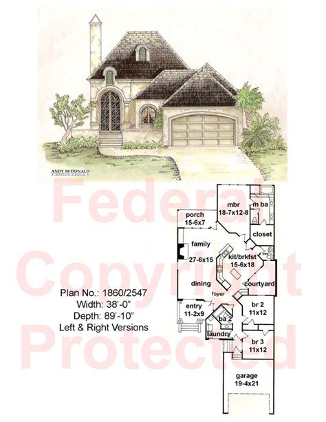Andy Mcdonald For A Narrow Lot House Plans One Day Andy Mcdonald House Plans