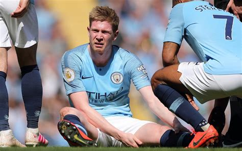 kevin de bruyne injury means    play