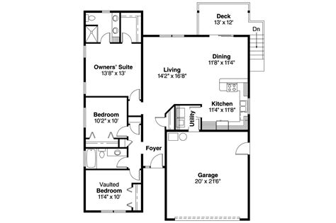 cottage homes floor plans cottage house plans kayleigh 30 549 associated designs