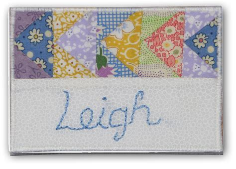 pattern for name tags quilt guild name tags sewing pattern reannalily designs