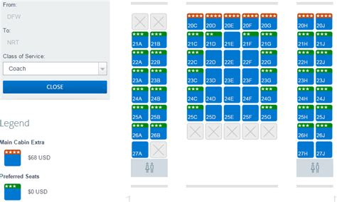 a beginner s guide to choosing seats on american airlines
