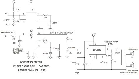 capacitor as a filter circuit gt circuits gt 3khz low pass filter and audio lifier l40132 next gr