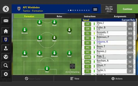 sport football mobile football manager mobile 2016 apk android sports