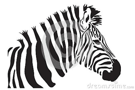 the gallery for gt zebra head outline