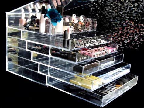 Acrylic Makeup Organizer With Drawers Kardashians by Image Gallery Acrylic Makeup Storage