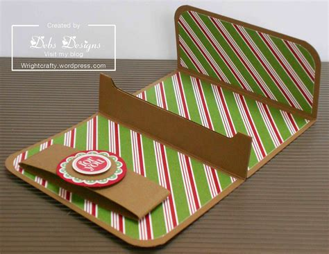 make gift card holder gift card holder wrightcrafty