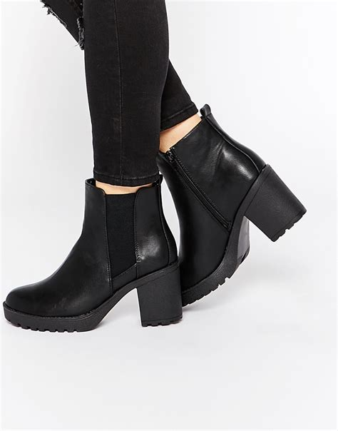 Heeled Ankle Boots heeled black ankle boots yu boots