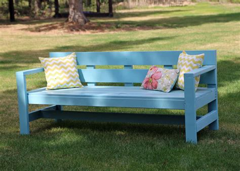 how to make a wooden park bench made by wood useful outdoor park bench plans