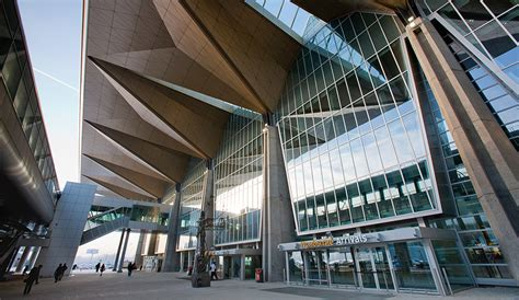 gallery of pulkovo international airport grimshaw a multiplanar airport terminal in russia azure magazine