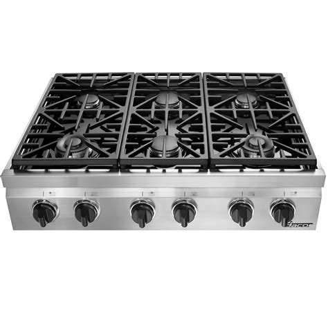 Best Cooktop Ranges - dacor gas cooktop 36 in drt366sng sears