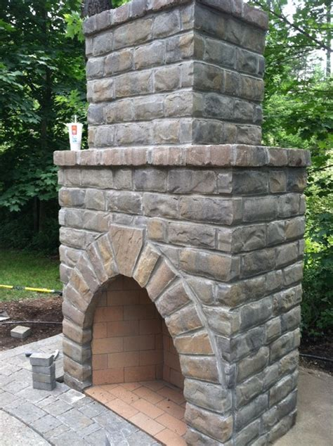 cost effective outdoor fireplaces other metro by