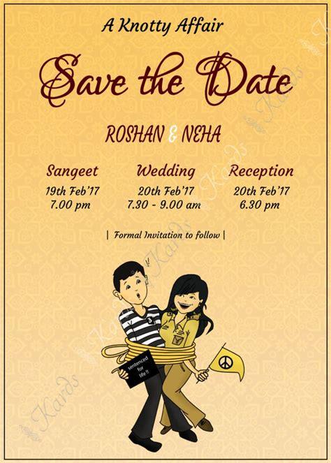 Indian Creative Wedding Cards