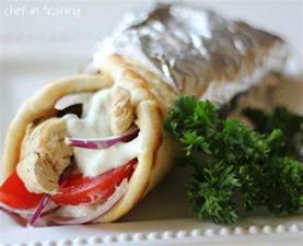 greek gyro chicken tzatziki sauce and flat bread recipe