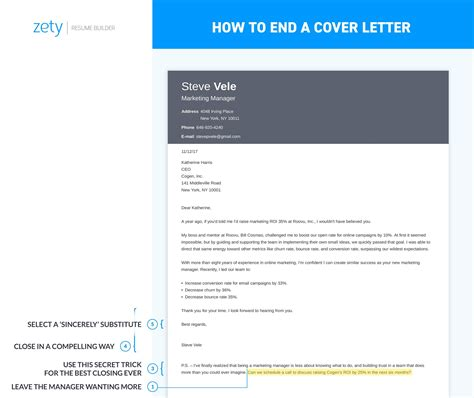 How To End A Cover Letter How To Format Cover Letter Uptowork Cover Letter Template