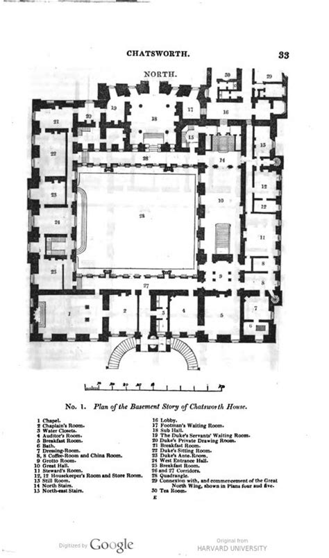 chatsworth floorplan castles and palaces pinterest chatsworth house ground floor plan mid xix century