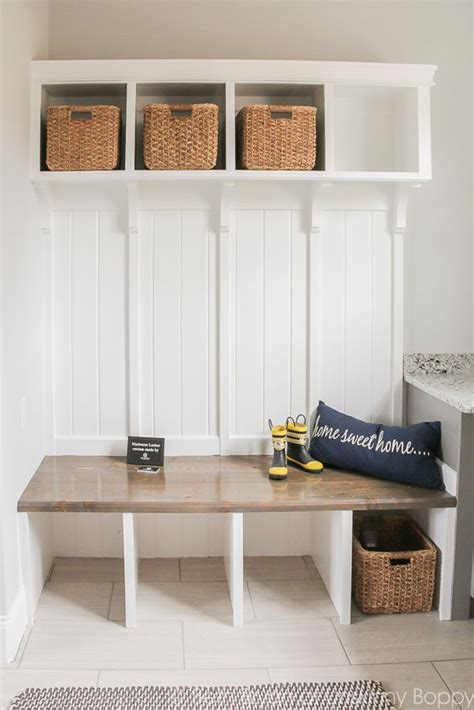mud room bench with storage 7 small mudroom d 233 cor tips and 23 ideas to implement them shelterness