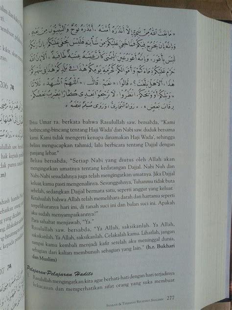 Buku Kitab Syarah Riyadhus Shalihin 1 Set 6 Jilid buku syarah dan terjemah riyadhus shalihin 1 set 2 jilid