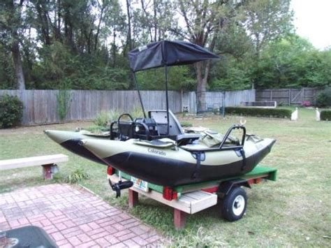 pontoon boat trailer modifications electric powered one person pontoon boat v is for