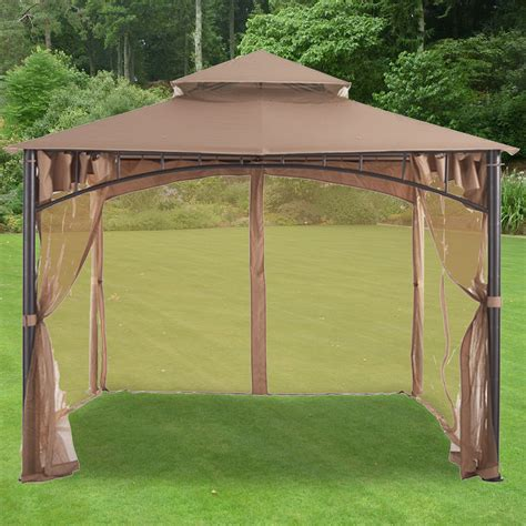 gazebo lowes lowes gazebos beautiful replacement canopy for gt geo