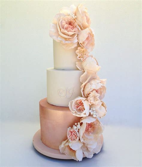 theme creator gold 15 breathtakingly beautiful rose gold wedding cakes cake