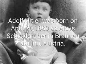 born adolf hitler adolf hitler born