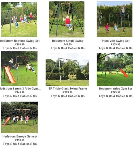 metal swing sets at toys r us swings from toys r us uk swing set specialist