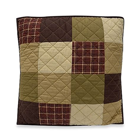 Logans Patchwork - donna sharp logan patchwork decorative pillow