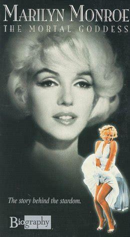 biography movie of marilyn monroe quot biography quot 1987 marilyn monroe the mortal goddess tv