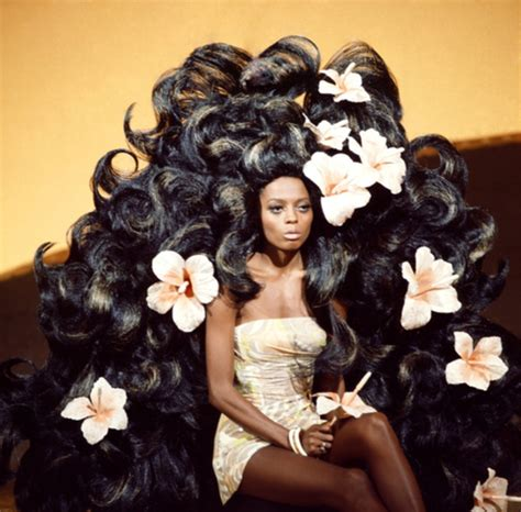 Diana Ross Hairstyles by The Hair Of Fame Miss Diana Ross