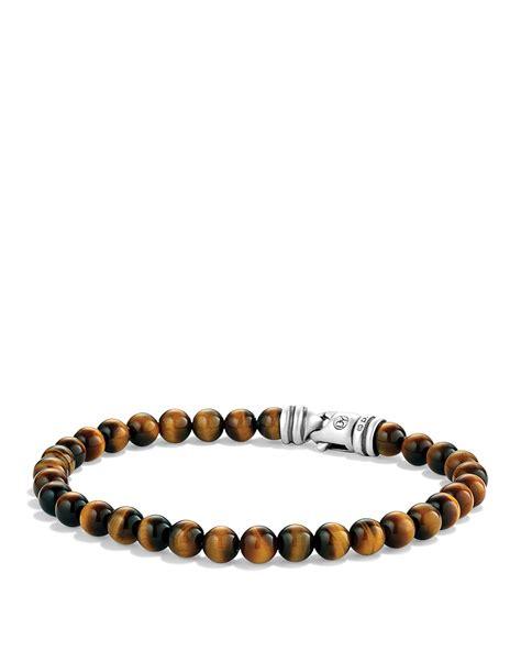 david yurman bead bracelet lyst david yurman spiritual bracelet with tiger s