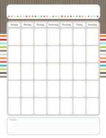 organizational calendar template 7 best images of printable blank calendar