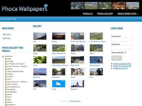 phoca gallery themes joomla 1 5 templates wallpapers 2 joomla 2 5