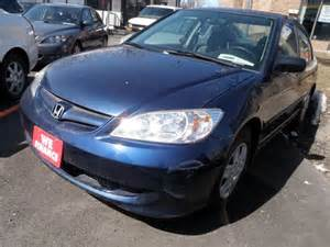 2005 honda civic dx brton ontario used car for sale