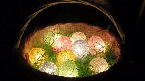 cottage country charms lighted easter basket